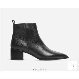 Like New Everlane Black Boss Boots